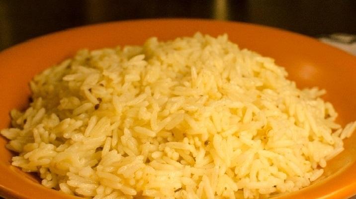 Рис басмати с карри