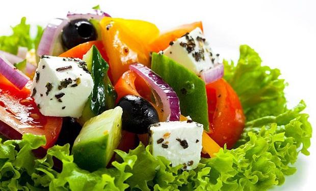 Вкусные салатики на скорую руку