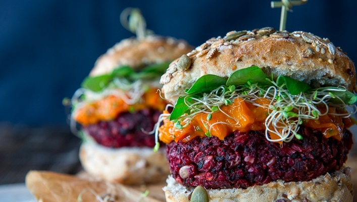 Бургеры с овощными котлетами