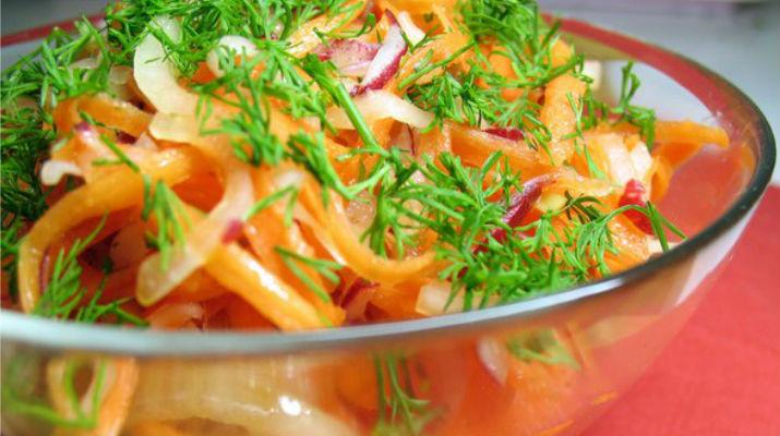 Салат для похудения из овощей