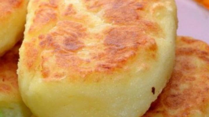 Простые картофельные котлеты