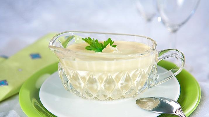 Вегетарианский майонез на молоке