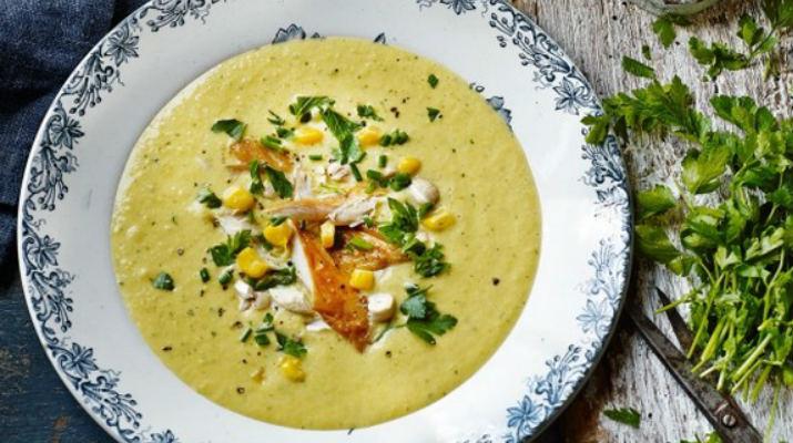 Моментальный суп-пюре из сладкой кукурузы