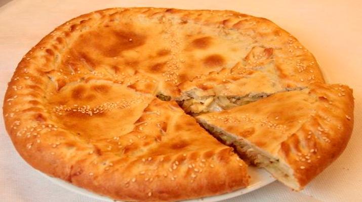Вегетарианский пирог без яиц и молока