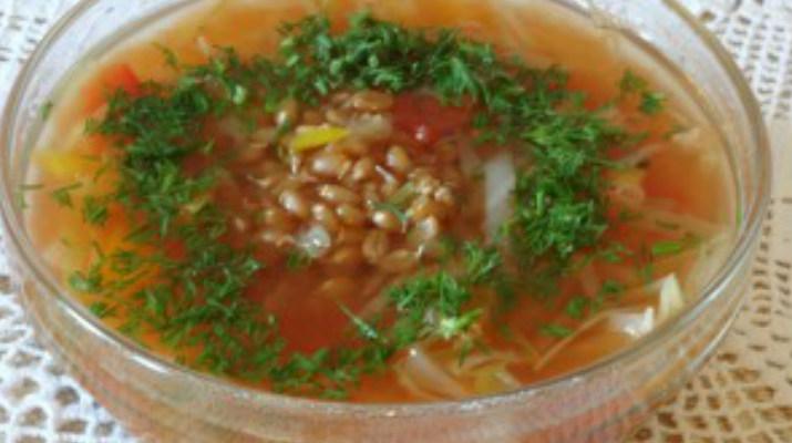 Суп из проросшей пшеницы