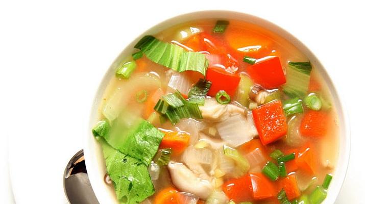 Борщ вегетарианский диетический