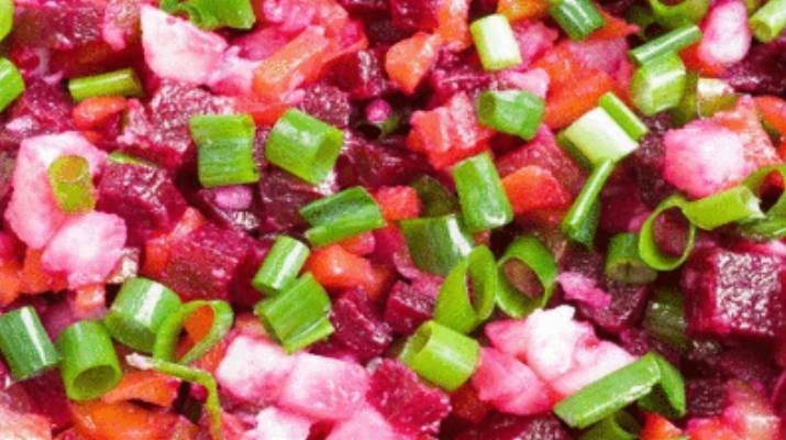 Винегрет из овощей