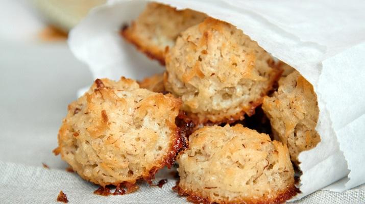 Сладкоежкам на заметку: кокосовое печенье