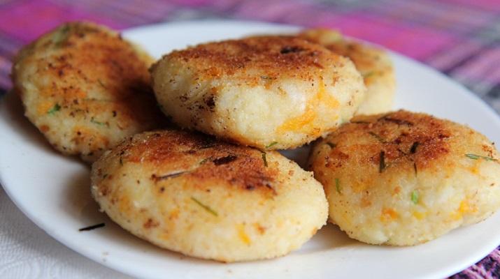 Вегетарианский запеченный картофель
