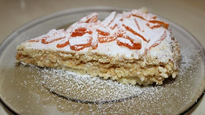 Вегетарианский сметанный торт