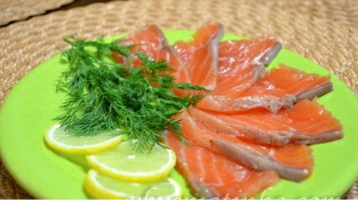 Засолка красной рыбы в домашних условиях к Пасхе