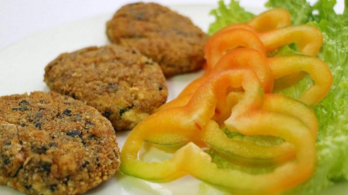 Хрустящие рыбные вегетарианские котлетки к вашему столу