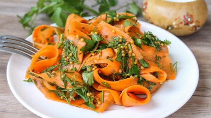 Морковь по-восточному