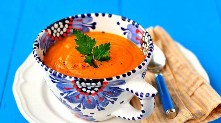 Морковно-картофельный суп-пюре