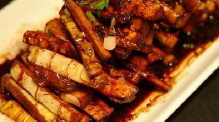 Тушёные бамбуковые ростки — интересные вегетарианские блюда