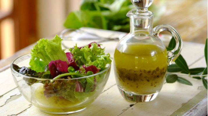 Масляная заправка для овощных салатов