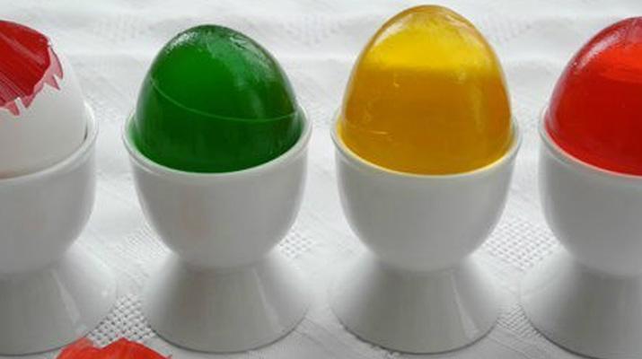 Пасхальное меню: яркие желейные яйца на праздник