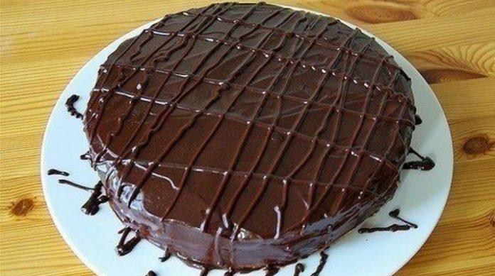 Постный шоколадный торт — пальчики оближешь