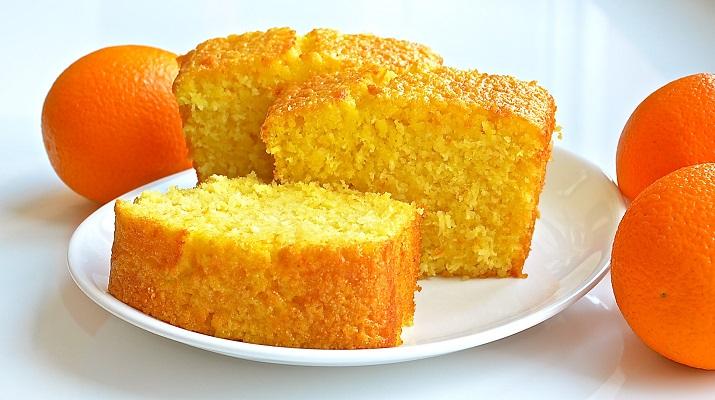 Апельсиновый пирог Нежный из 4 ингредиентов