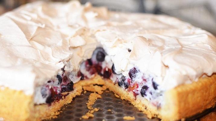 Пирог «Фруктовая нежность»