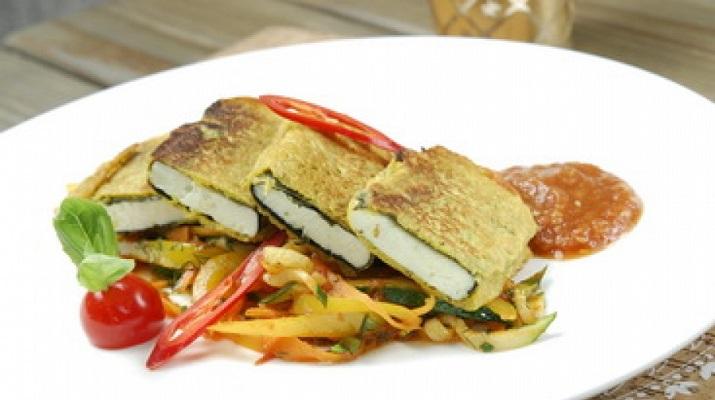 Вегетарианский заменитель рыбы