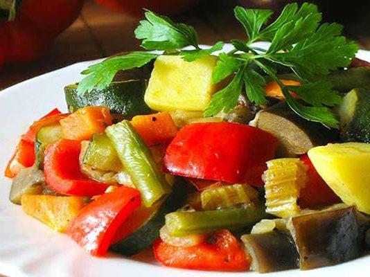 Ароматное овощное рагу, которое подарит наслаждение!