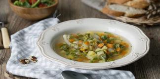 Овощной суп по-сербски