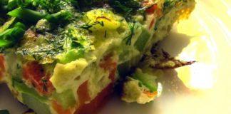 Вегетарианская паэлья с баклажанами
