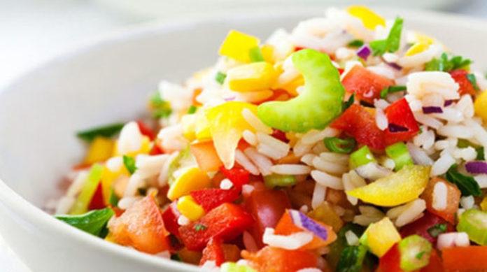 Вкуснейший рис с овощами