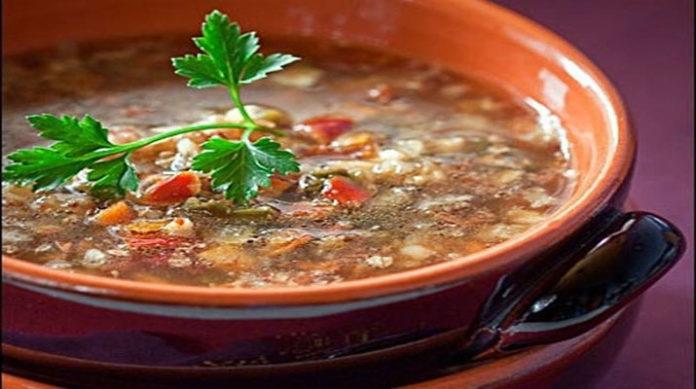 Гречневый постный суп невероятно вкусный