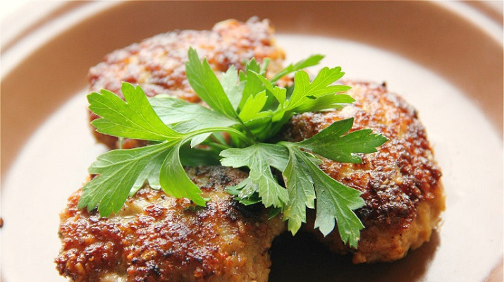 Вегетарианские овсяные котлеты