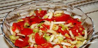 Баклажанный салат «Овощное безумие»