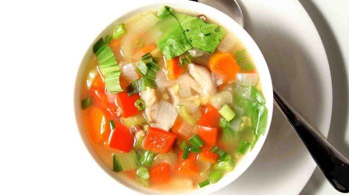 Диетический суп – ешь и худей!