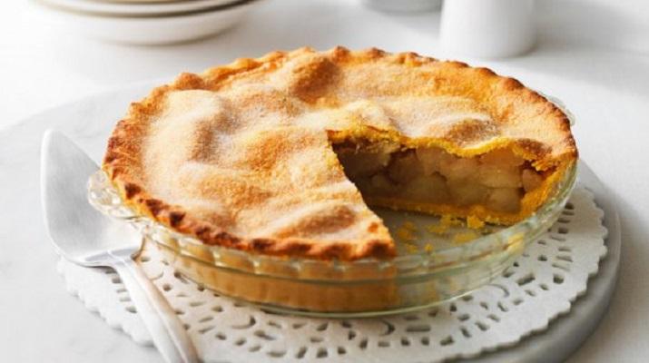 Пирог с яблоками на … кефире!