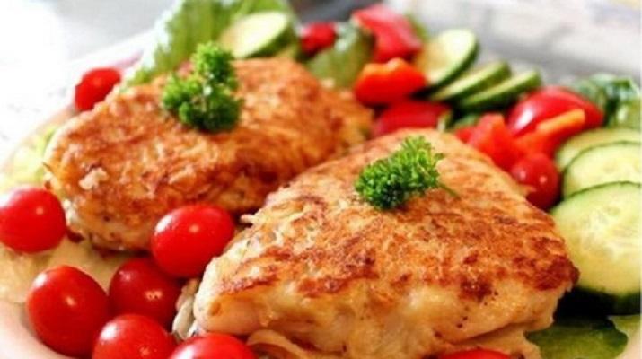 Вегетарианская «рыба» в кляре
