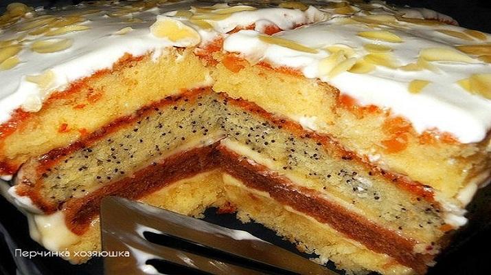 Торт «Сметанная королева»