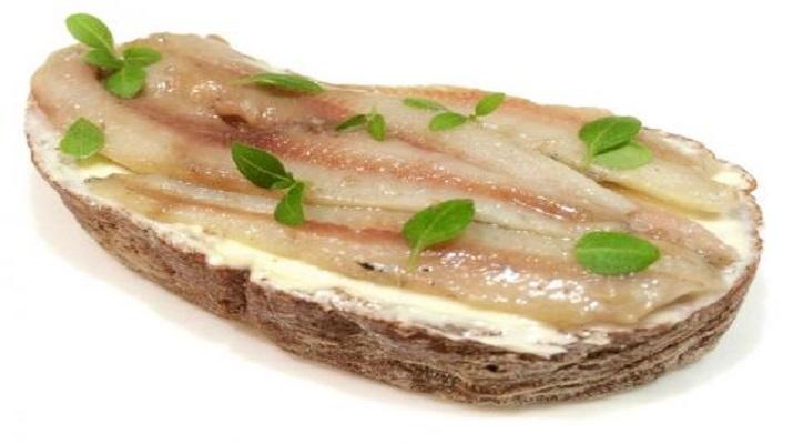 Рыбный пирог с нори