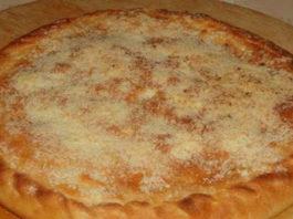 Картофельный пирожок на молоке
