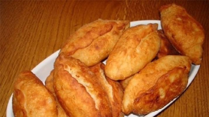 Пирожки с гречнево-рыбной начинкой