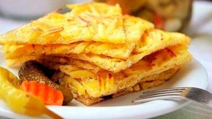 Жареная картошечка «На скорую руку»