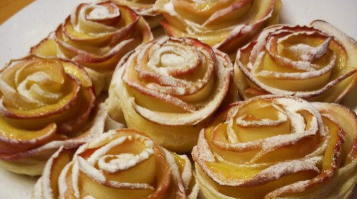 Съедобные «розы»