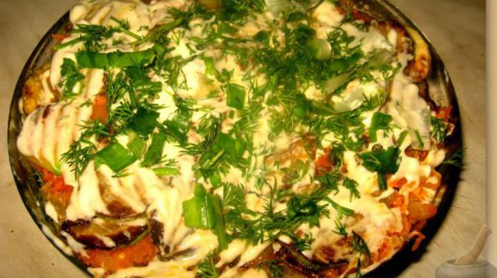 Салат с креветками и зеленым горошком