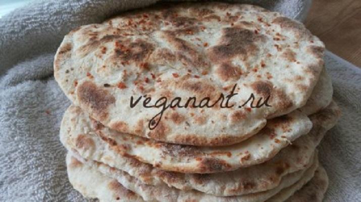 Ароматный вегетарианский ржаной хлеб