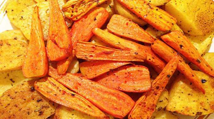 Запеченный картофель с корочкой