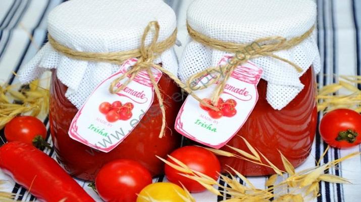 Домашний кетчуп из помидоров