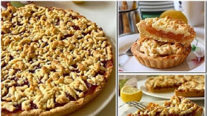 Самый вкусный тертый пирог