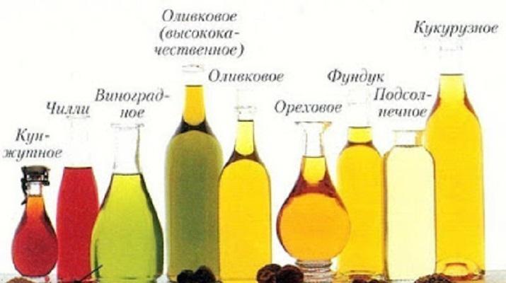 Растительные масла: информация о каждом
