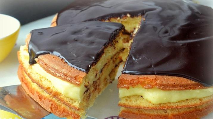Нежнейший Бостонский кремовый торт