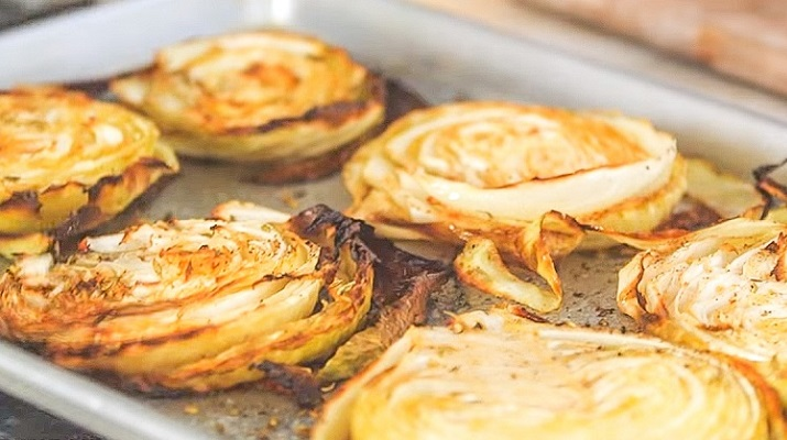 Супер вкусная и полезная капуста, приготовления в духовке