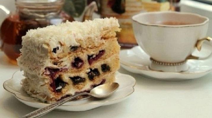 «Вишня в снегу» — всем тортам торт!